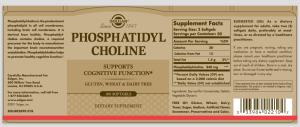 Solgar-PhosCholine-Label